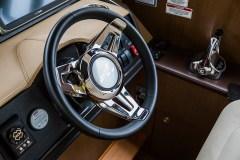 Stainless-steel steering wheel
